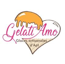 logo Gelati Amo new bat